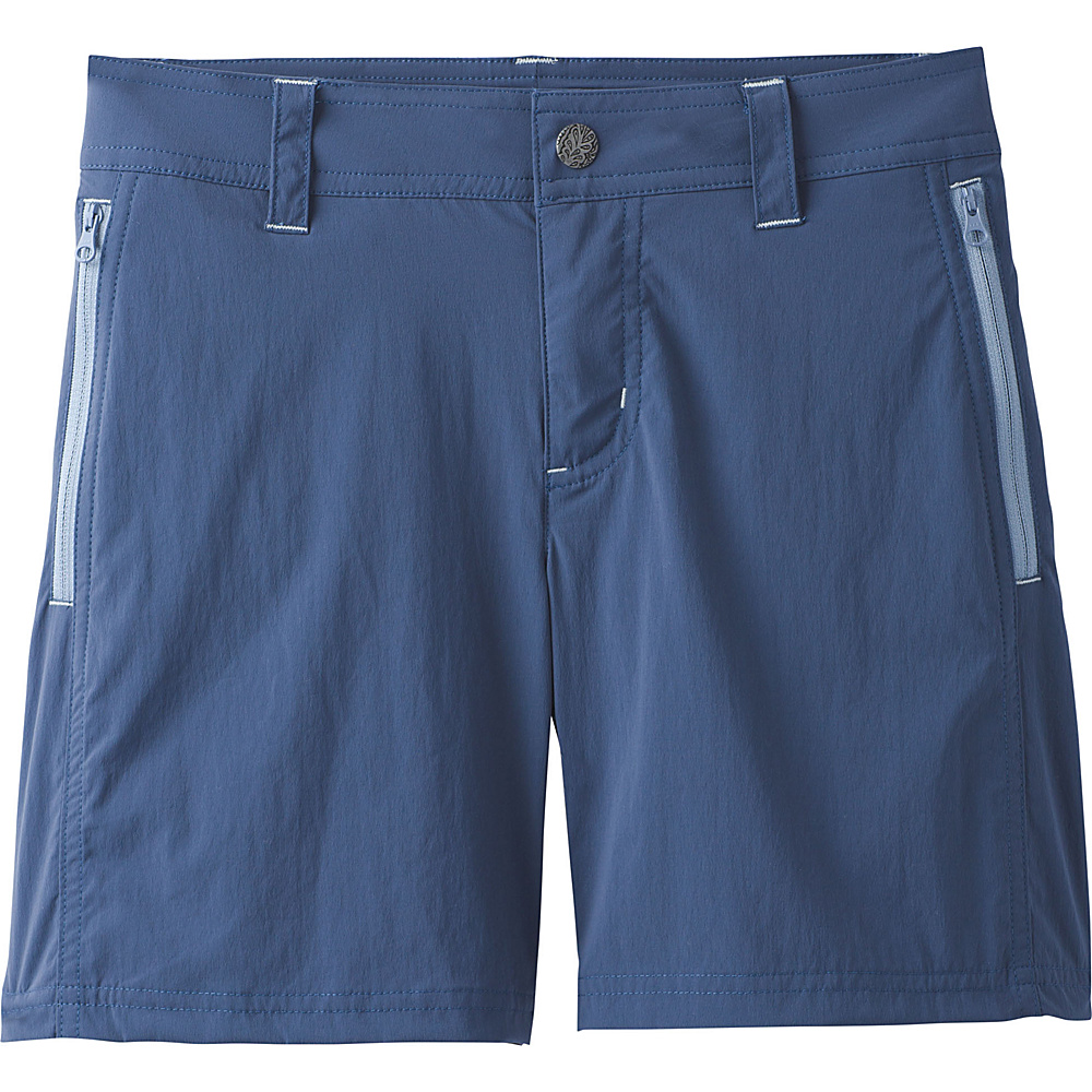 PrAna Aria Short 0 - Equinox Blue - PrAna Womens Apparel - Apparel & Footwear, Women's Apparel