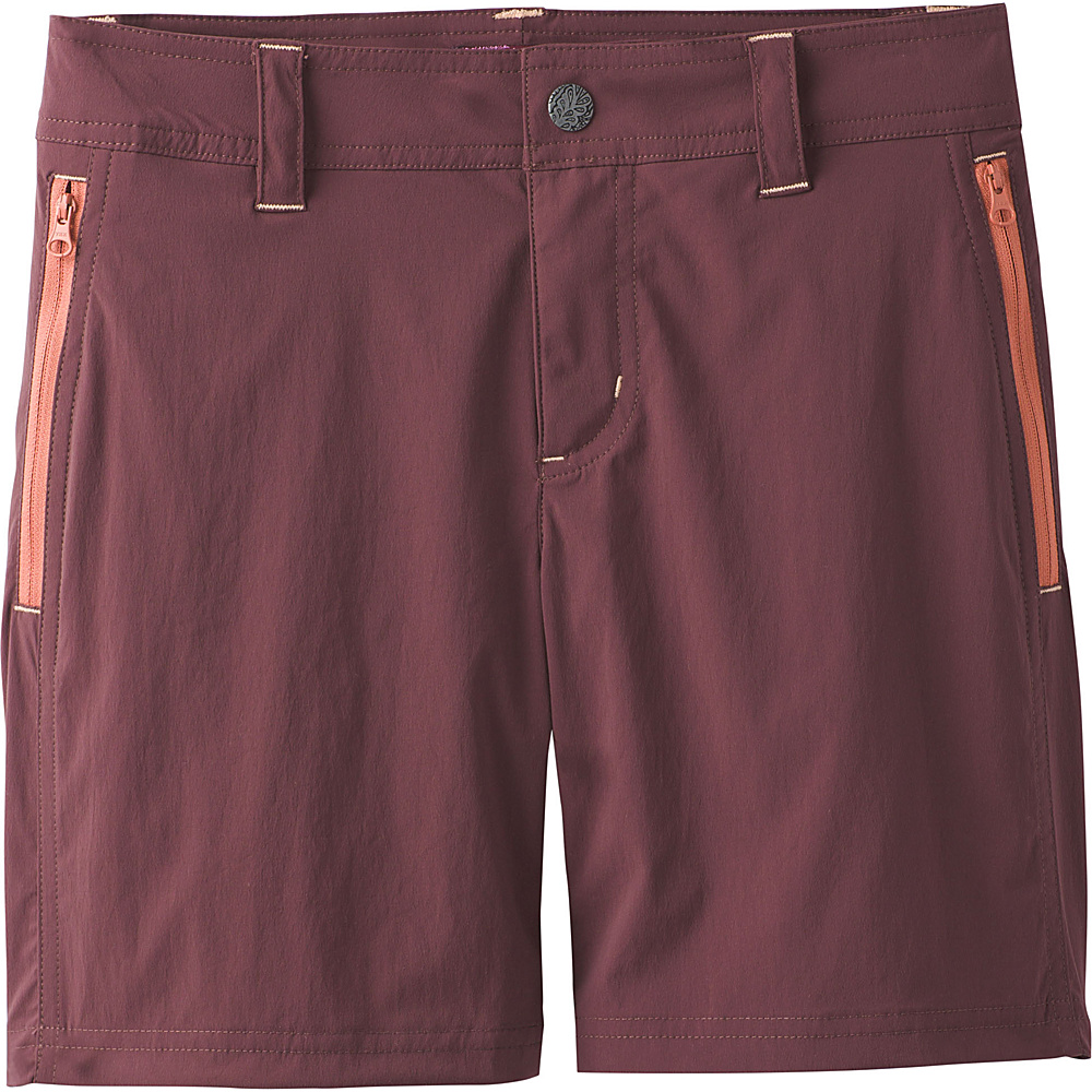 PrAna Aria Short 0 - Thistle - PrAna Womens Apparel - Apparel & Footwear, Women's Apparel