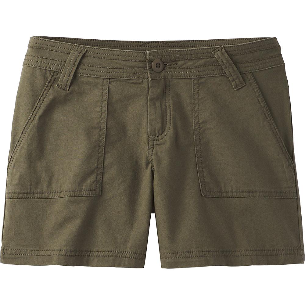 PrAna Tess Short - 5 Inseam 12 - Cargo Green - PrAna Womens Apparel - Apparel & Footwear, Women's Apparel
