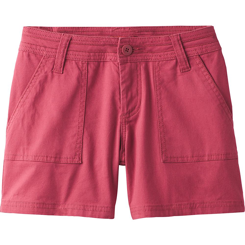 PrAna Tess Short - 5 Inseam 2 - Crushed Cran - PrAna Womens Apparel - Apparel & Footwear, Women's Apparel