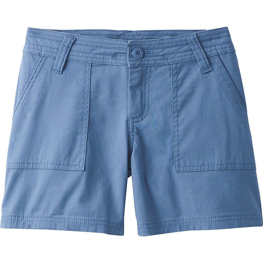 PrAna Tess Short - 5 Inseam 2 - Sunbleached Blue - PrAna Womens Apparel - Apparel & Footwear, Women's Apparel