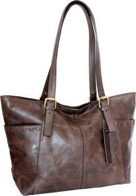 Nino Bossi Olivia Tote Chocolate - Nino Bossi Leather Handbags