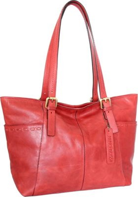 Nino Bossi Olivia Tote Red - Nino Bossi Leather Handbags