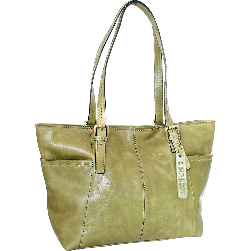 Nino Bossi Olivia Tote Avocado - Nino Bossi Leather Handbags - Handbags, Leather Handbags