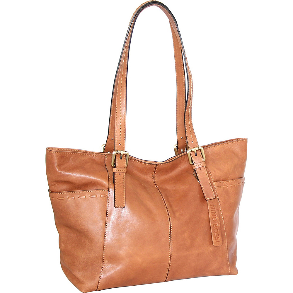 Nino Bossi Olivia Tote Nut - Nino Bossi Leather Handbags - Handbags, Leather Handbags