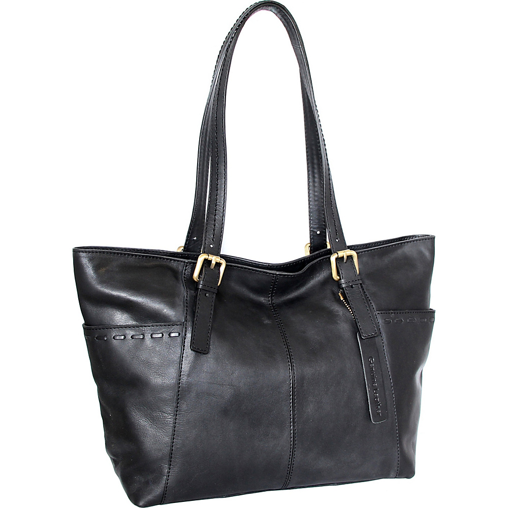 Nino Bossi Olivia Tote Black - Nino Bossi Leather Handbags - Handbags, Leather Handbags