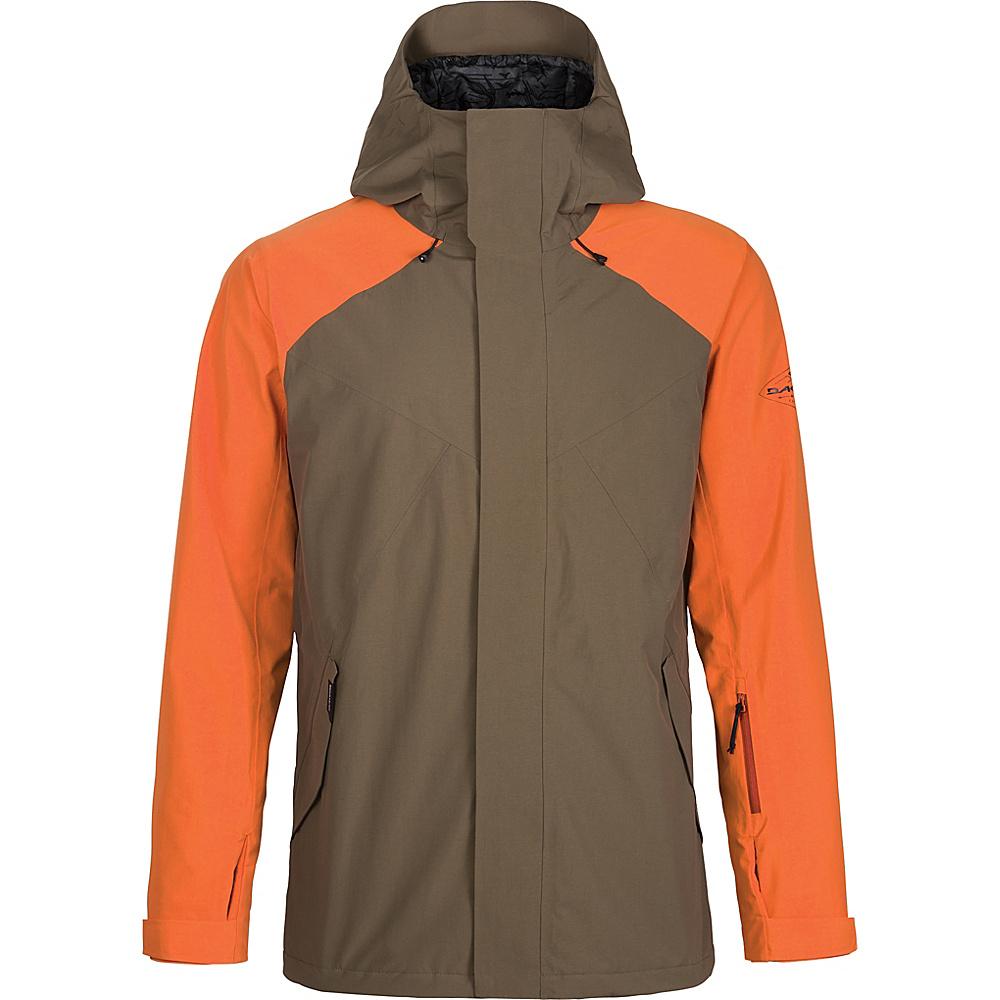 DAKINE Mens Meridian Jacket L - Tarmac / Burnt Ochre - DAKINE Mens Apparel - Apparel & Footwear, Men's Apparel