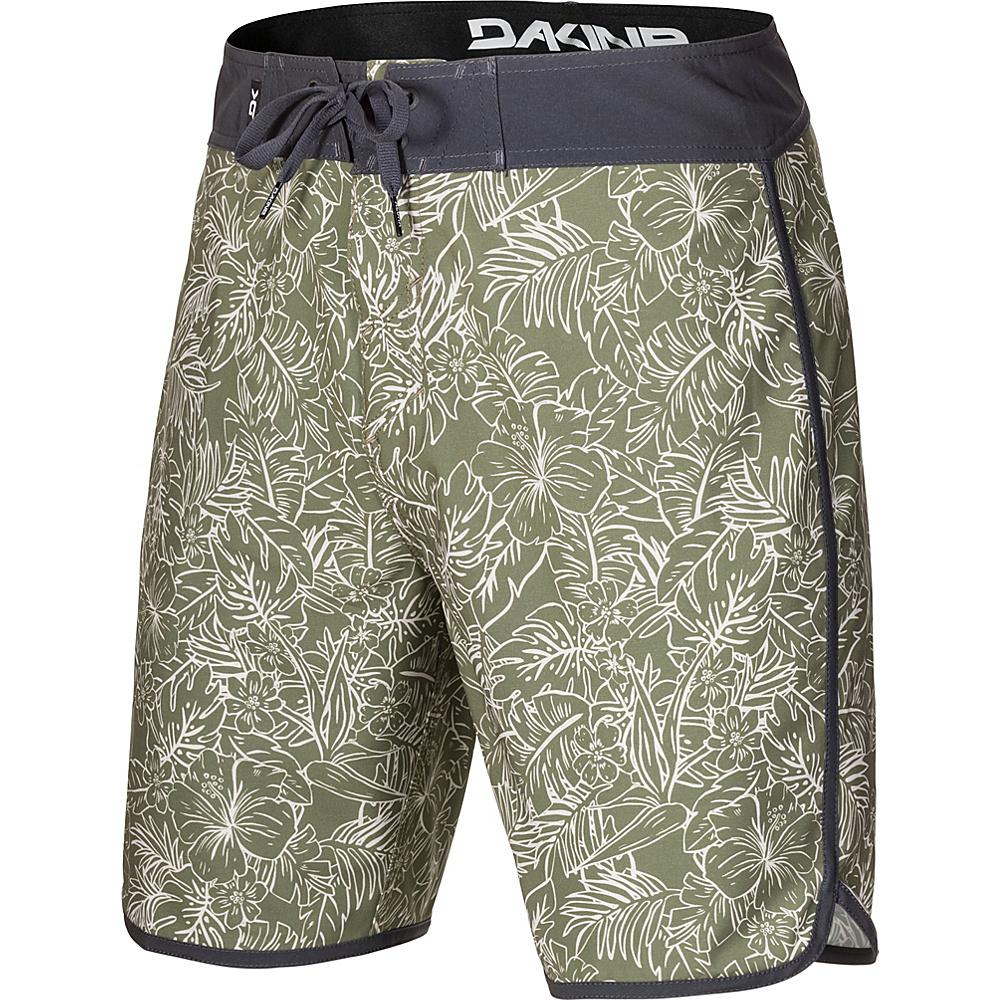 DAKINE Mens Kona Boardshort 34 - Surplus Kapalua Palm - DAKINE Mens Apparel - Apparel & Footwear, Men's Apparel