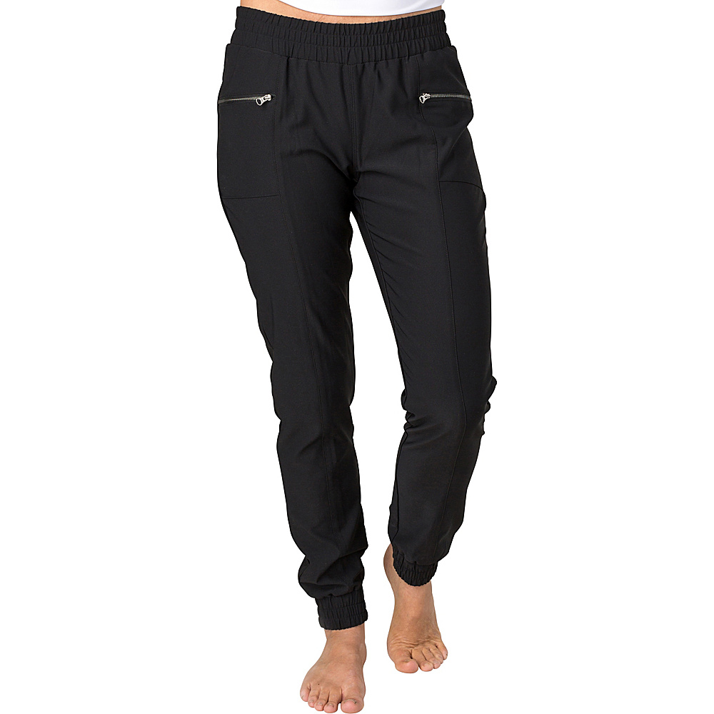 Soybu Womens Elevate Jogger L - Black - Soybu Womens Apparel - Apparel & Footwear, Women's Apparel