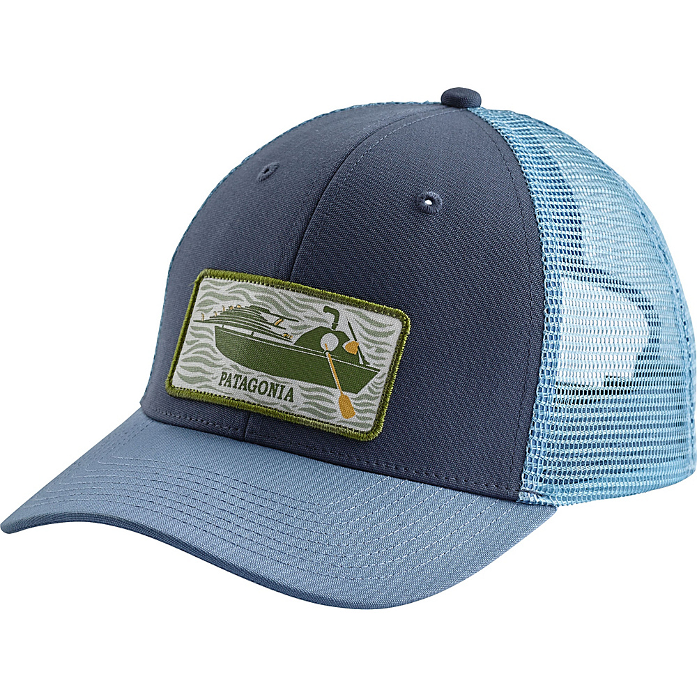 Patagonia Haul Aboard Trucker Hat One Size - Dolomite Blue - Patagonia Hats/Gloves/Scarves - Fashion Accessories, Hats/Gloves/Scarves