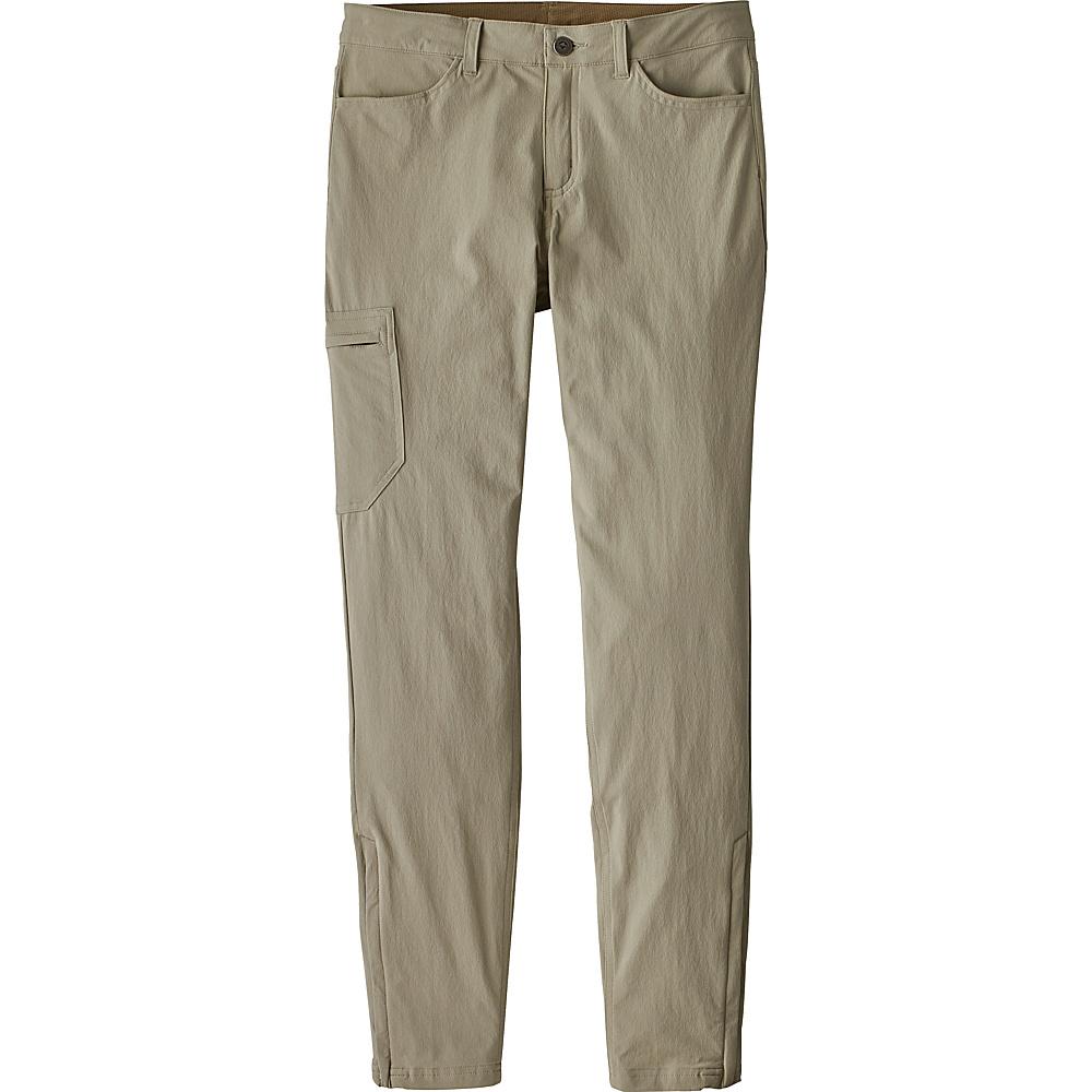 Patagonia Womens Skyline Traveler Pants - Short 0 - Petite - Shale - Patagonia Womens Apparel - Apparel & Footwear, Women's Apparel