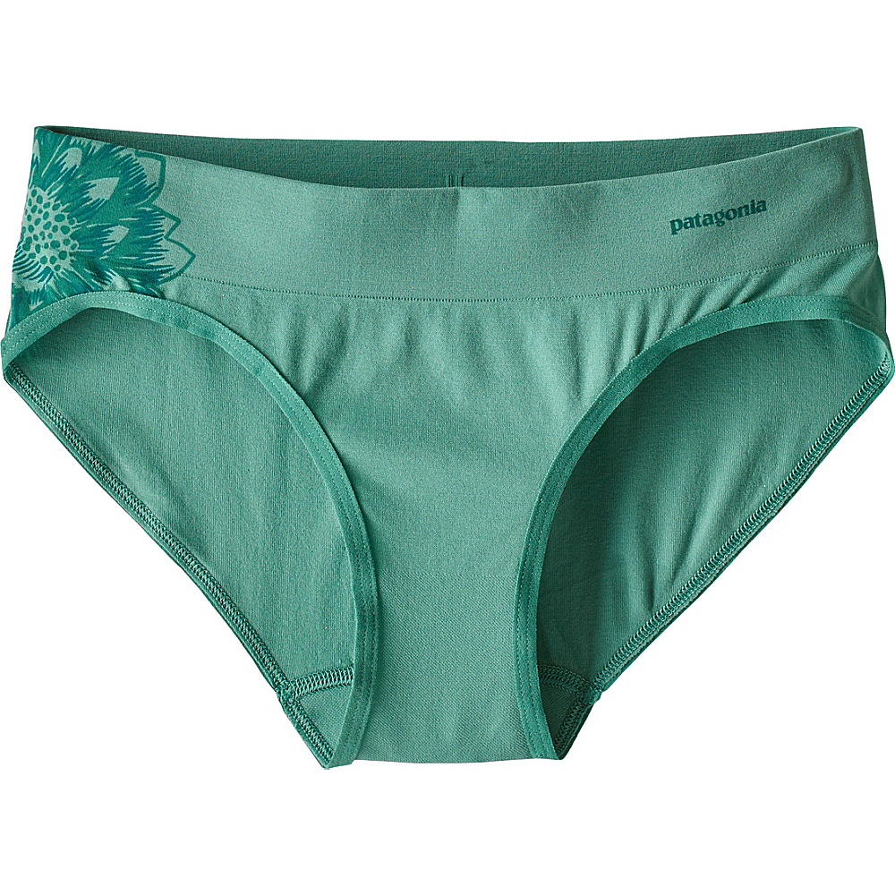 Patagonia Womens Active Hipster XS - Cereus Graphic: Beryl Green - Patagonia Womens Apparel - Apparel & Footwear, Women's Apparel