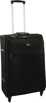 Jump Solera 2 Wheel Carry-On Suiter Black - Jump Softside Carry-On