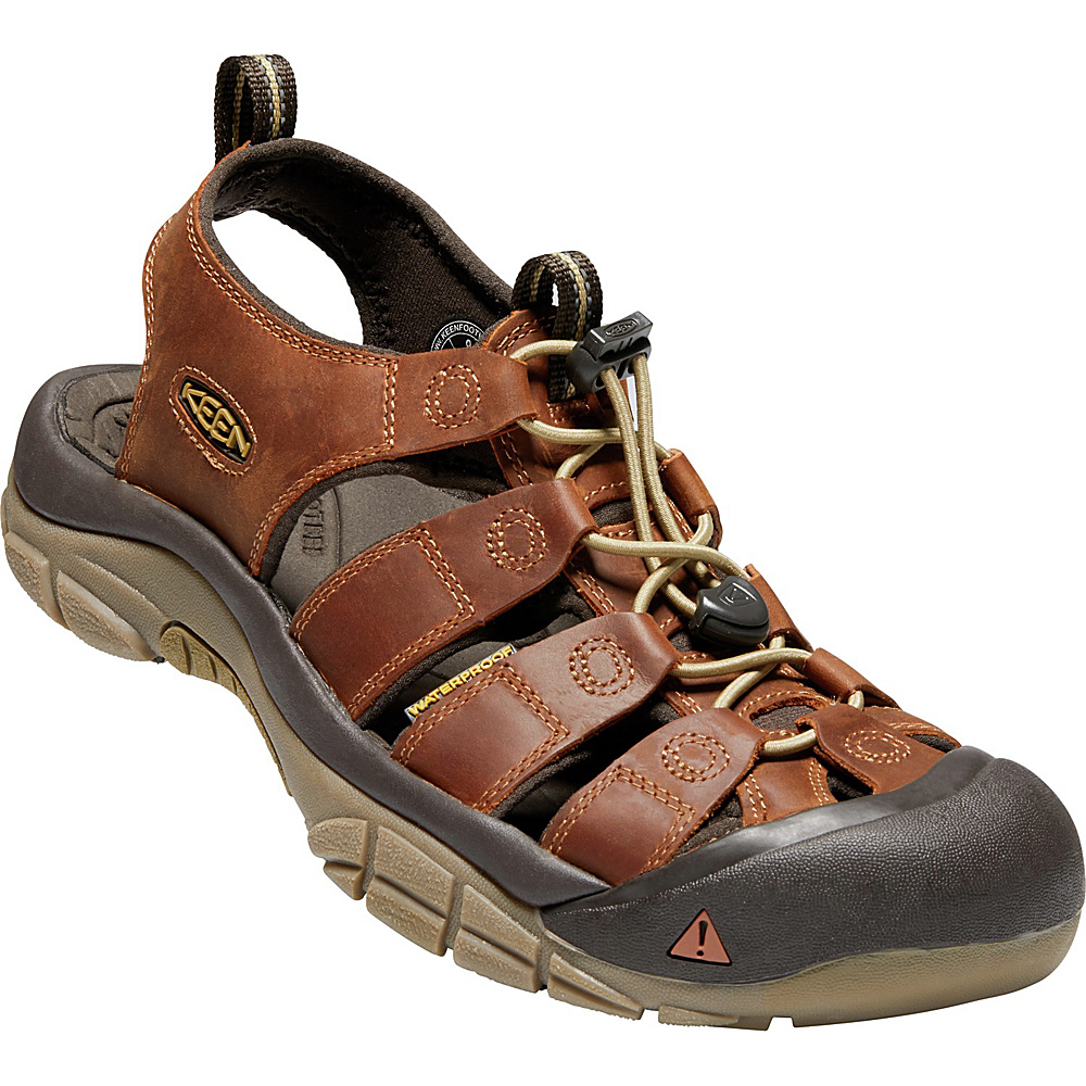 KEEN Mens Newport Evo Sandals 9.5 - Infield/Mulch - KEEN Mens Footwear - Apparel & Footwear, Men's Footwear