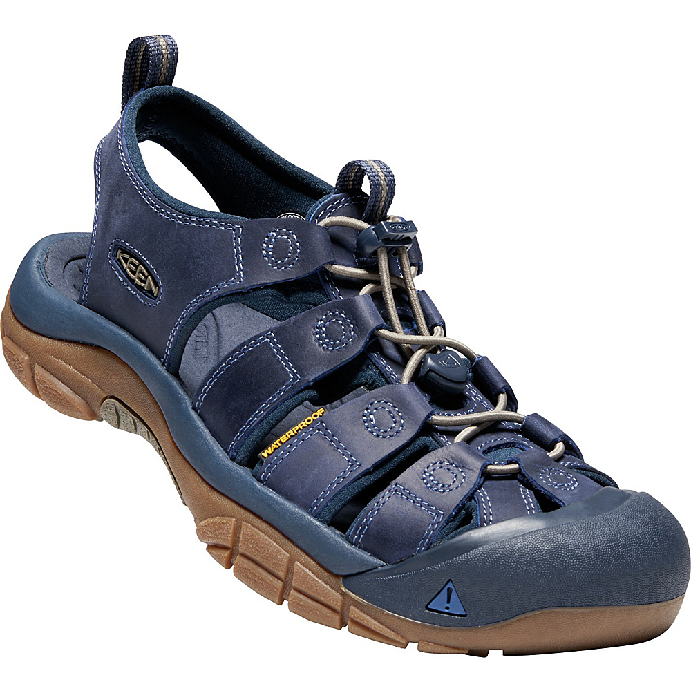 KEEN Mens Newport Evo Sandals 9.5 - Yankee Blue/Dress Blues - KEEN Mens Footwear - Apparel & Footwear, Men's Footwear