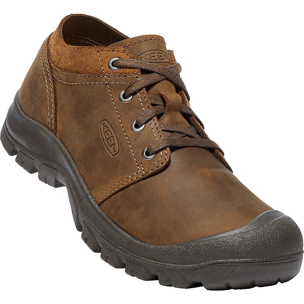 KEEN Mens Grayson Oxfords 9.5 - Mid Brown/Scylum Smooth Leather - KEEN Mens Footwear - Apparel & Footwear, Men's Footwear