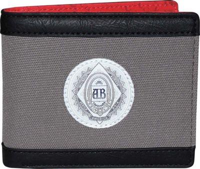 Budweiser CO2 Slimfold Wallet Grey - Budweiser Men's Wallets