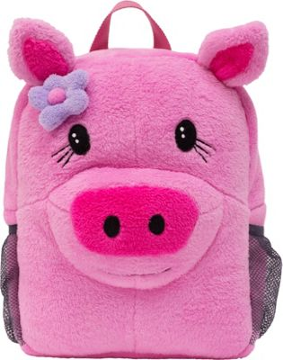 ecogear Brite Buddies Plush Backpack with LED Flashing Lights Pig - ecogear Everyday Backpacks