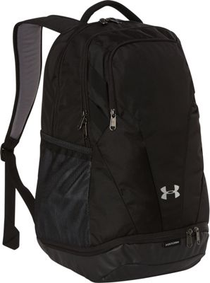 Under Armour Team Hustle 3.0 Backpack Black/Black/Silver - Under Armour Everyday Backpacks