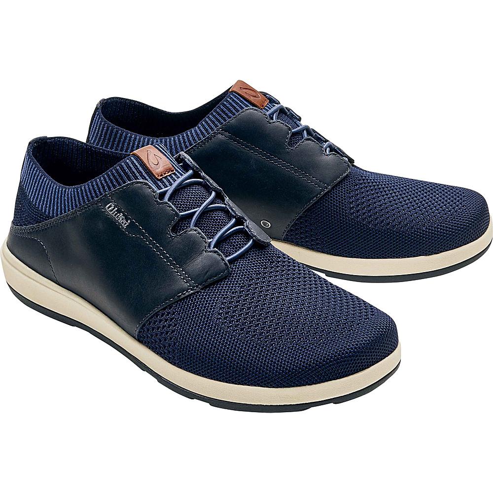 OluKai Mens Makia Ulana Slip-On 11 - Trench Blue/Trench Blue - OluKai Mens Footwear - Apparel & Footwear, Men's Footwear