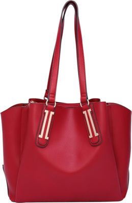 STYLE STRATEGY Martina Shoulder Bag Red - STYLE STRATEGY Manmade Handbags