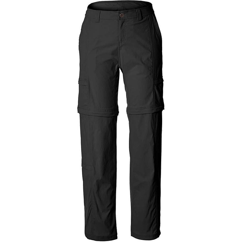 Royal Robbins Womens Discovery Zip N Go Pant 10 - 29in - Jet Black - Royal Robbins Womens Apparel - Apparel & Footwear, Women's Apparel