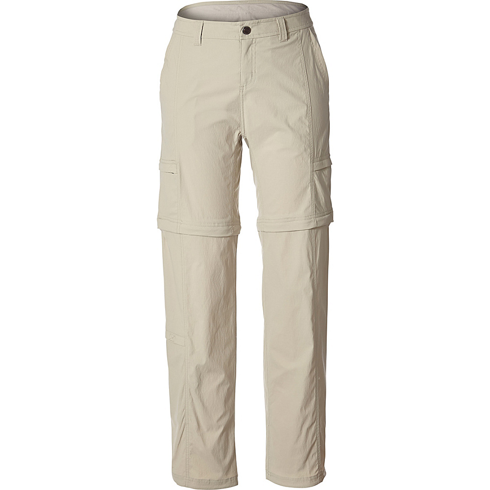 Royal Robbins Womens Discovery Zip N Go Pant 2 - 32in - Sandstone - Royal Robbins Womens Apparel - Apparel & Footwear, Women's Apparel