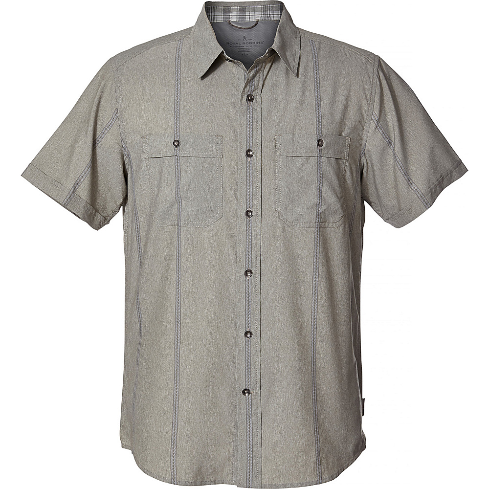Royal Robbins Mens Vista Dry Short Sleeve XXL - Fiddlehead - Royal Robbins Mens Apparel - Apparel & Footwear, Men's Apparel