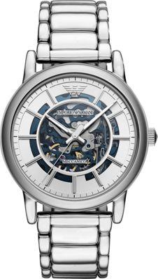 Emporio Armani Mens Dress Watch Silver - Emporio Armani W...