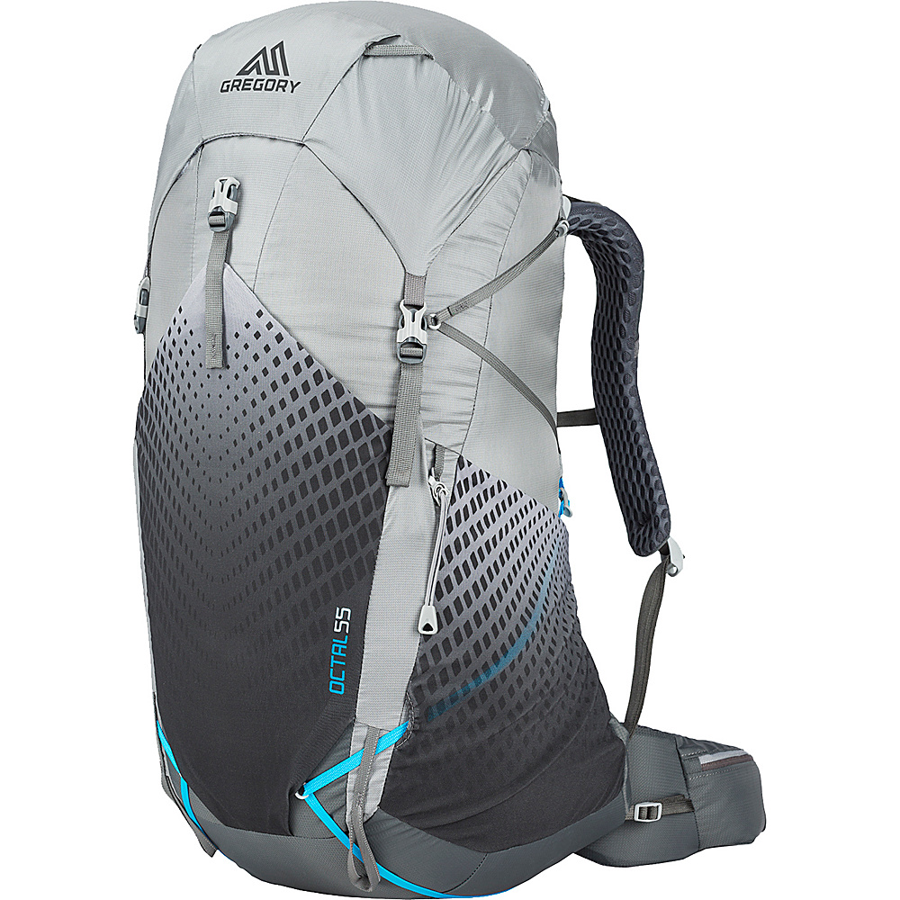12ee7347a41b Gregory Womens Octal 55 Hiking Backpack Frost Grey - Medium - Gregory Day  Hiking Backpacks -