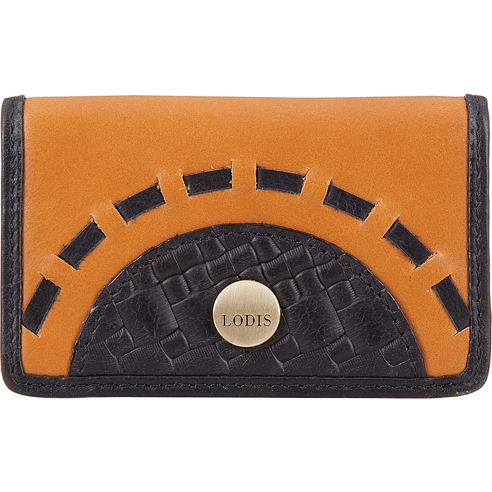 Lodis Rodeo Woven RFID Mini Card Case Black - Lodis Business Accessories - Work Bags & Briefcases, Business Accessories