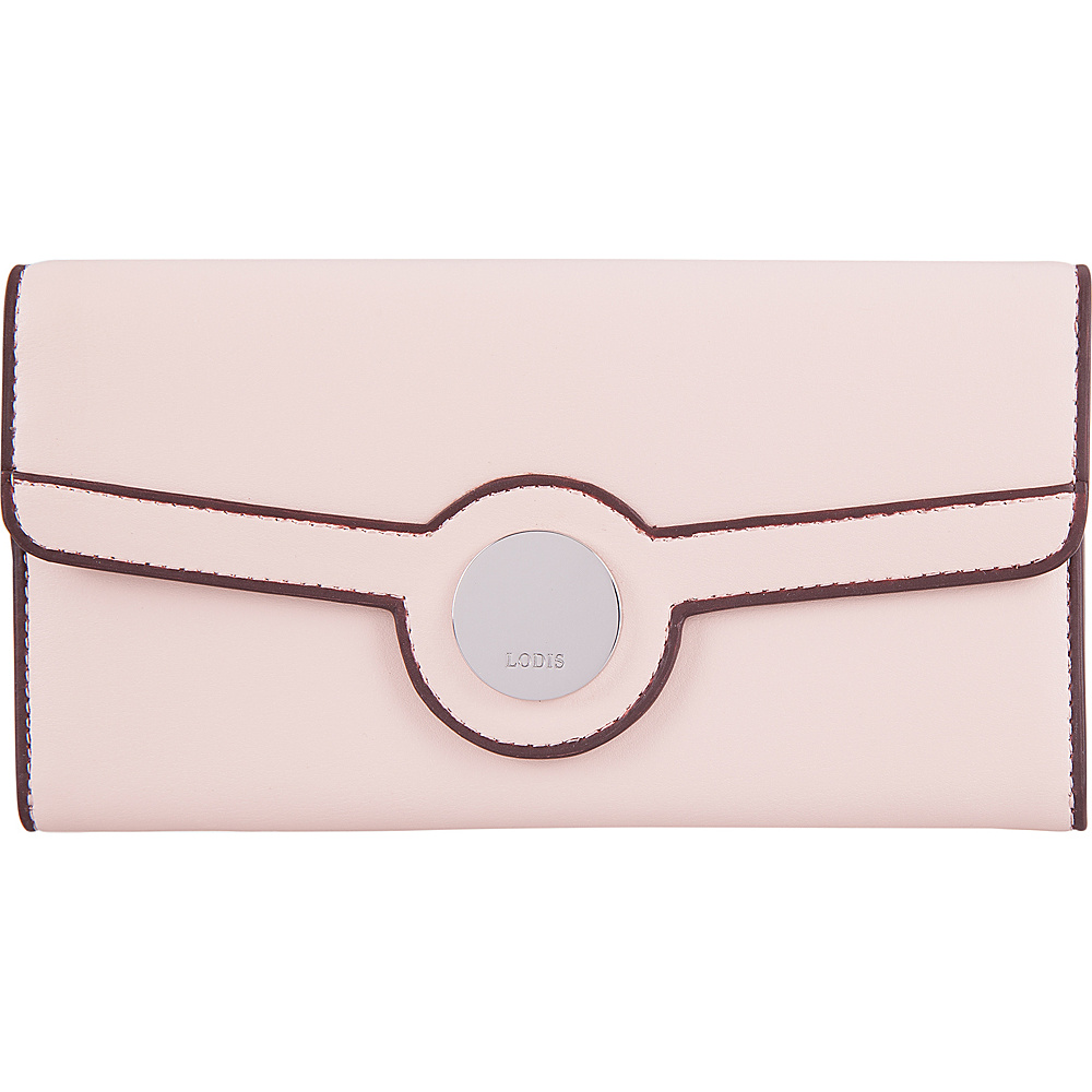 Lodis Rodeo RFID Luna Clutch Wallet Blush - Lodis Womens Wallets - Women's SLG, Women's Wallets
