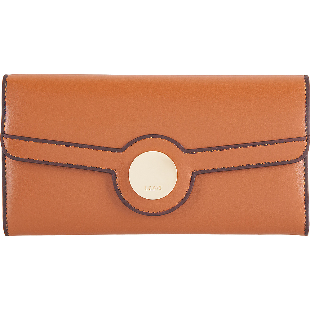Lodis Rodeo RFID Luna Clutch Wallet Toffee - Lodis Womens Wallets - Women's SLG, Women's Wallets