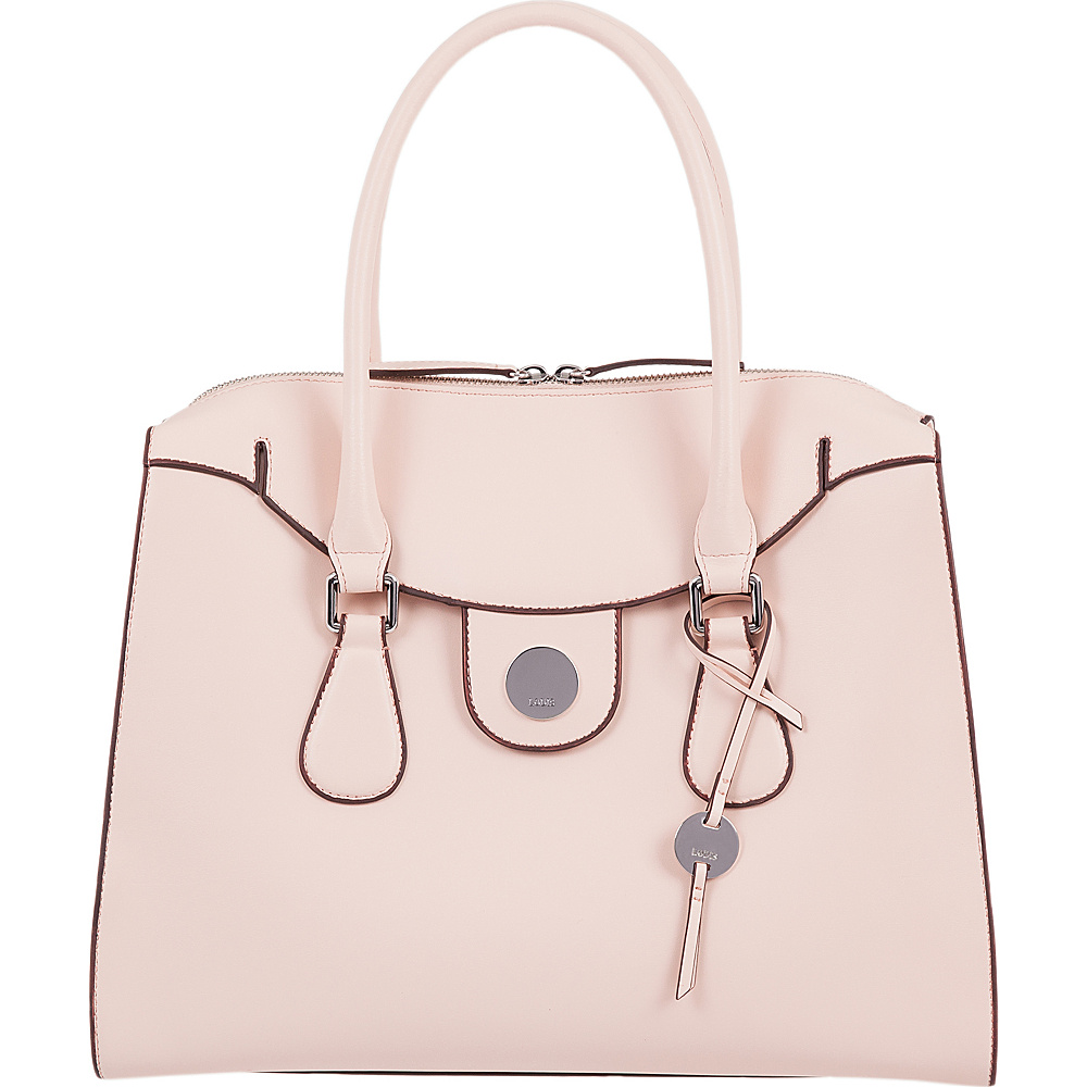 Lodis Rodeo RFID Gwyneth Zip Top Tote Blush - Lodis Leather Handbags - Handbags, Leather Handbags