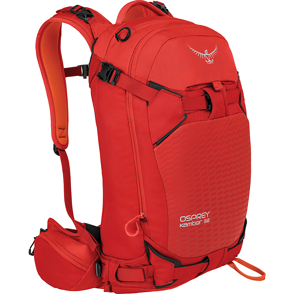 Osprey Kamber 32 Hiking Backpack Ripcord Red – S/M - Osprey Day Hiking Backpacks - Outdoor, Day Hiking Backpacks