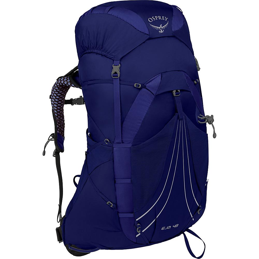 Osprey Eja 48 Hiking Backpack Equinox Blue – MD - Osprey Day Hiking Backpacks - Outdoor, Day Hiking Backpacks