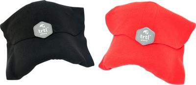 Trtl Travel Pillow Bundle - EXCLUSIVE Black and Red - Trtl Travel Pillows & Blankets