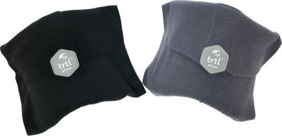 Trtl Travel Pillow Bundle - EXCLUSIVE Black and Grey - Trtl Travel Pillows & Blankets