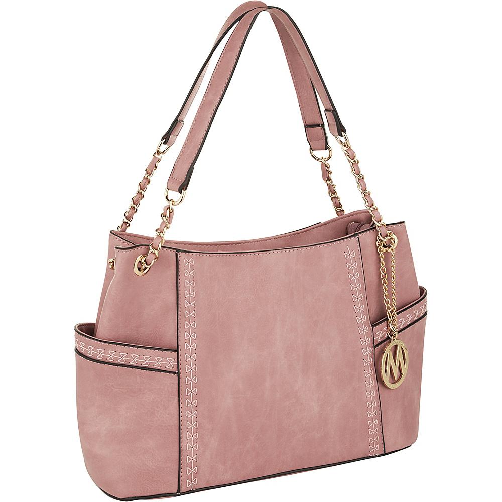 MKF Collection by Mia K. Farrow Britny Shoulder Bag Pink - MKF Collection by Mia K. Farrow Manmade Handbags - Handbags, Manmade Handbags