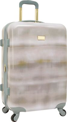 Vince Camuto Luggage Perii 24 inch Expandable Hardside Spinner Checked Luggage Chambray - Vince Camuto Luggage Hardside Checked