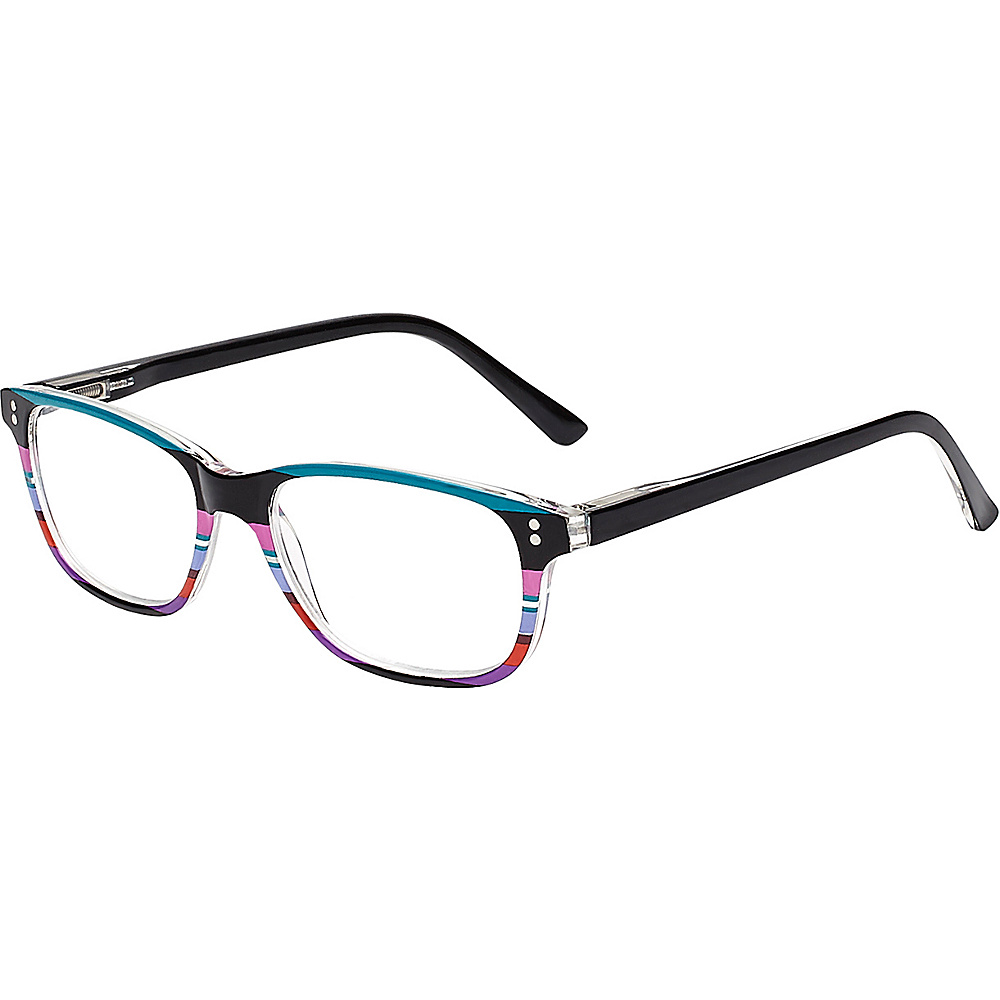 Select-A-Vision VK Couture Reading Glasses +1.75 - Blue Stripe - Select-A-Vision Sunglasses - Fashion Accessories, Sunglasses