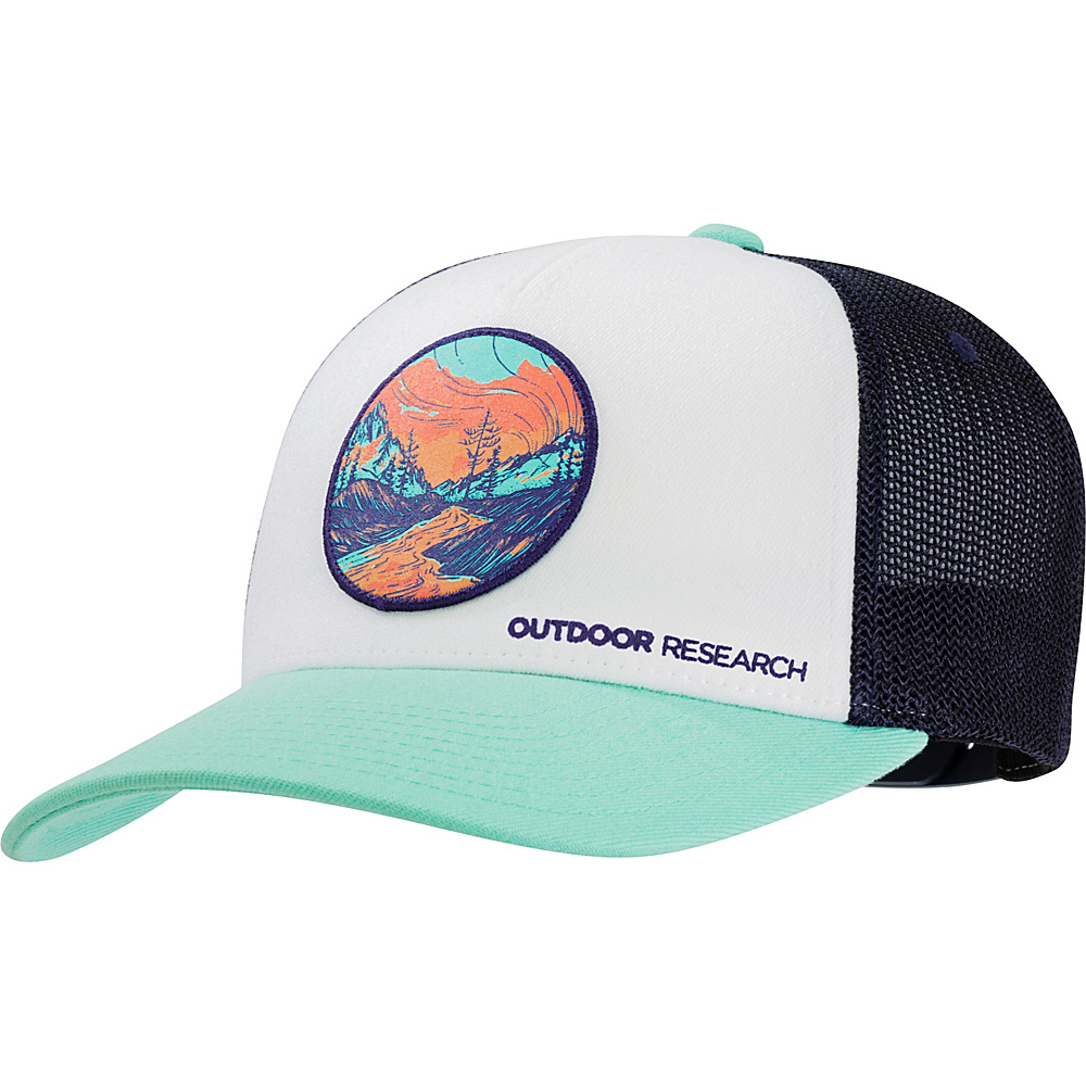 Outdoor Research Alpenglow Trucker Cap One Size - Tahiti - Outdoor Research Hats/Gloves/Scarves - Fashion Accessories, Hats/Gloves/Scarves