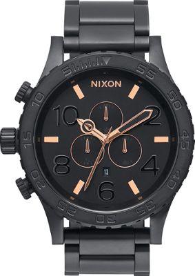 Nixon 51-30 Chrono Watch All Black/Rose Gold - Nixon Watches