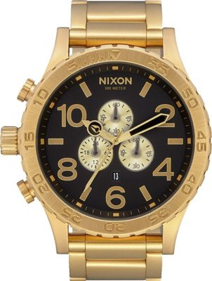 Nixon 51-30 Chrono Watch All Gold/Black - Nixon Watches