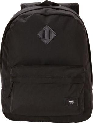 Vans Old Skool Plus Laptop Backpack True Black - Vans Laptop Backpacks