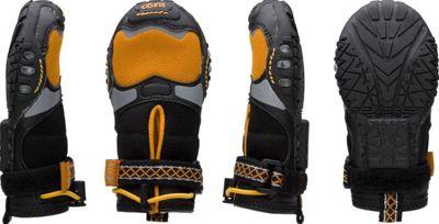 Kurgo Step N Strobe Dog Shoes Orange/Black - Medium - Kur...