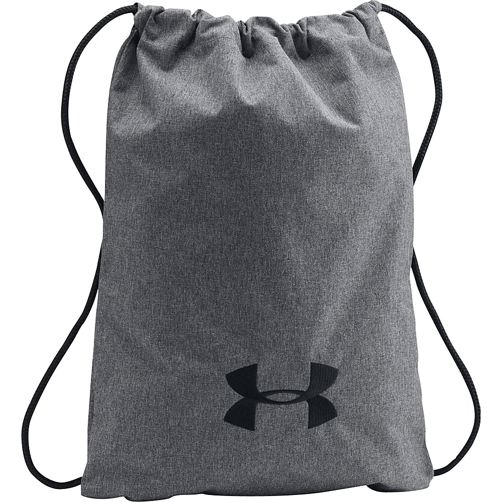 0905e4dda9ba ... Under Armour Ozsee Elevated Sackpack Graphite Black Black - Under Armour  Everyday Backpacks super popular 0e023 ...