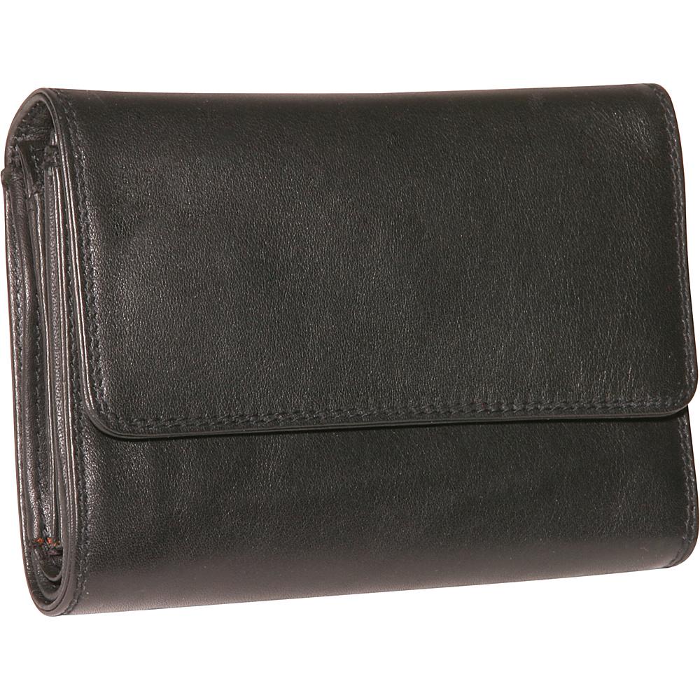 Derek Alexander Ladies Medium Cardex - Black - Women's SLG, Women's Wallets