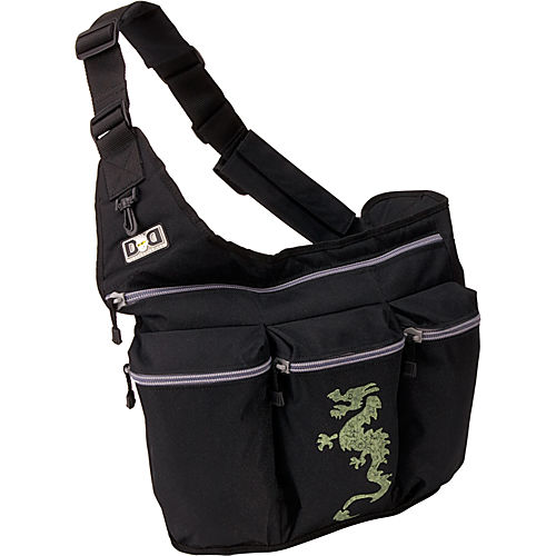 Black wth Dragon - $70.00