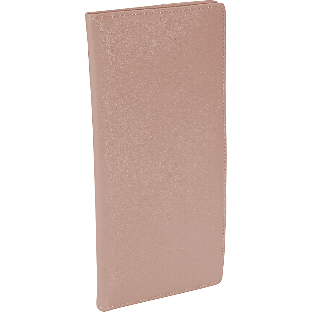 Royce Leather Passport Ticket Holder - Carnation Pink - Travel Accessories, Travel Wallets